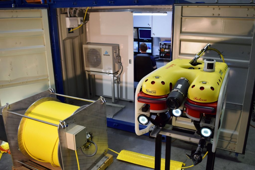 Focus Subsea ROV & topside installation