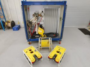 Focus Subsea provides anchor monitoring systems for semi-submersible oil drilling rigs.